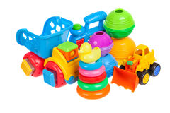 Baby toys collection Royalty Free Stock Image