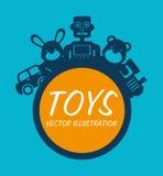 Baby toys design Stock Photos