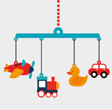 Baby toys design royalty free illustration