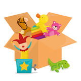 Baby toys design. Royalty Free Stock Image