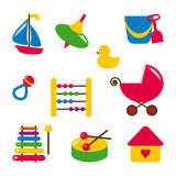 Baby toys Stock Photos