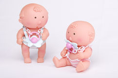 Baby toys. On gray background Stock Photography