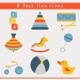 Baby toys icon Stock Photos