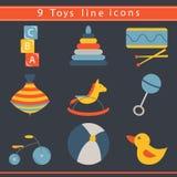 Baby toys icon Royalty Free Stock Photo