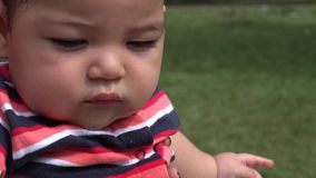 Baby With Toys, Infant Toys, Newborn Playing stock video