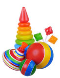 Baby toys kit Stock Images