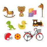 Baby toys royalty free illustration