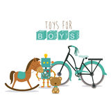 Baby toys Stock Image