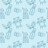 Baby  toys  seamless Pattern Royalty Free Stock Photos