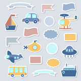 Baby Toys Stickers royalty free illustration