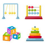 Baby toys vector Royalty Free Stock Photo