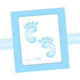 Baby traces Royalty Free Stock Photography
