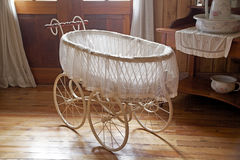 Baby transportation at the German Museum at Frutillar, Chile Stock Photos