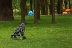 Baby trolley Stock Photography