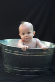 Baby in Tub Stock Images