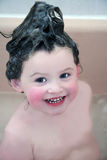 Baby in the tub Royalty Free Stock Photo