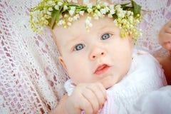 Baby- und Blumenmaiglöckchen Lizenzfreie Stockbilder