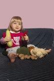 Baby und Natur Lizenzfreie Stockbilder