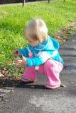 Baby und Natur Stockbilder