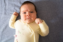 Baby under three months old Royalty Free Stock Photography