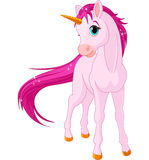 Baby unicorn stock illustration