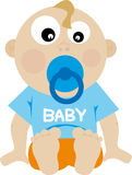 Baby (vector) Stock Afbeelding