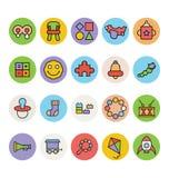 Baby Vector Icons 4 Stock Photos