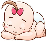 Baby stock illustration