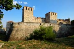 Baby Vida średniowieczny forteca w Vidin, Bułgaria obrazy stock