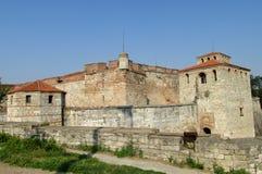 Baby Vida kamienia forteca w Vidin, Bułgaria na Danube brzeg rzeki Obrazy Stock