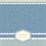 Baby vintage background vector Stock Photos