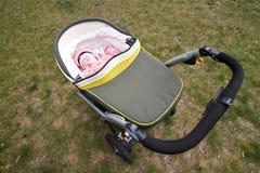 The baby on walk Stock Photos