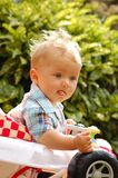 Baby walker Royalty Free Stock Image