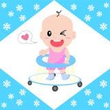 Baby walker Stock Photo