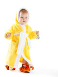Baby walking Stock Photos