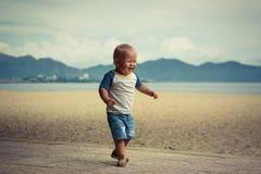 Baby walking Stock Photos