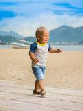Baby walking Royalty Free Stock Photos
