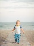 Baby walking Royalty Free Stock Photo