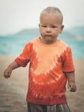 Baby walking Stock Image
