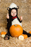 Baby Wearing Costume Stock Photography