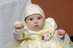 Baby at a wedding Stock Photos
