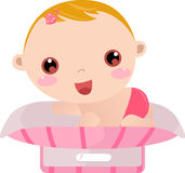 Baby weight Stock Images
