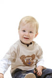 Baby on the white background Royalty Free Stock Images