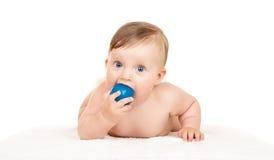 Baby on white Royalty Free Stock Photo