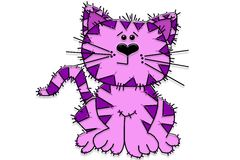 Baby Wildcat Cartoon Stock Photography