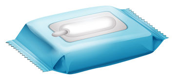 Baby wipes Royalty Free Stock Images