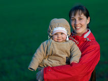 Free Baby With Mom Royalty Free Stock Photography - 8666707