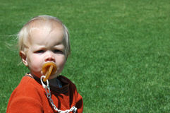 Free Baby With Pacifier Stock Photo - 3400220