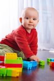 Baby With Toys Stock Image