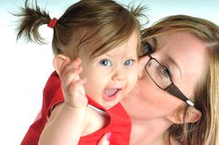 Baby woman Royalty Free Stock Photography
